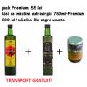 Pack Premium: ulei de masline extravirgin 750ml+Premium 500ml+masline BIO negre uscate